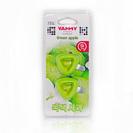 "Ароматизатор на дефлектор Yammy жидкий ""Green Apple"""