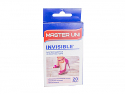 Лейкопластырь Master Uni INVISIBLE №20 Прозрачный